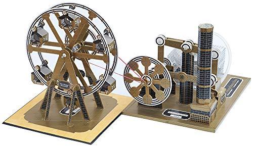 Astromedia Bausatz - Riesenrad, mit Einer Dampfmaschine betrieben