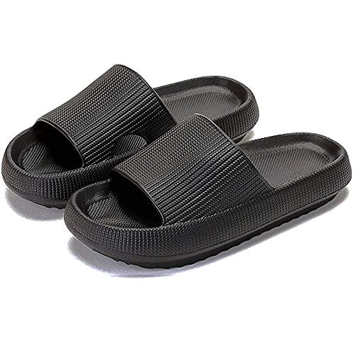 Nmg1 Almohada Diapositivas Zapatillas Ligeres con Suela Extra Gruesa Pero Suave baño Zapatos Antideslizantes Especiales para Ducha con Agujeros de Drenaje seco rápido para el Verano en Interiores.
