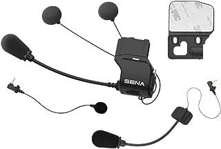 セナ(SENA) SC-A0318 《 20S/20S EVO/ 30K 各モデル対応》 ユニバーサル ヘルメット クランプ キット (スリムスピーカーモデル、マイク付) [並行輸入品]