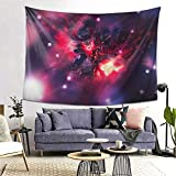 Longocean Thresh League Legends Game Tapestry Wall Hanging Curtain Decor Bedroom Dorm Living Room Home Beach Blanket Beach Coverlet Poster Popular Decoration 60x80 Inch
