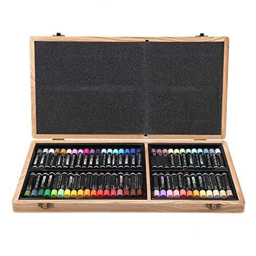 Simlug Set di pastelli ad Olio di 60, Colori Vivaci Set di pastelli per Pittura a Olio con Pastello a Olio Pastello