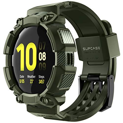 SUPCASE - Carcasa para Galaxy Watch Active 2 (44 mm), color verde