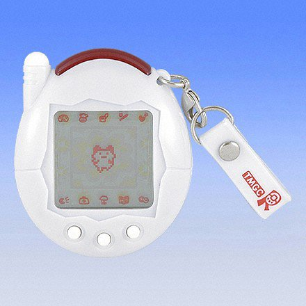 Series all-white-to-red plus Tamagotchi! Paddle mobile (japan import)