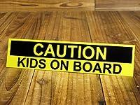KIDS IN CAR ステッカー 子供 乗ってます CAUTION_SC-BI06-LFS