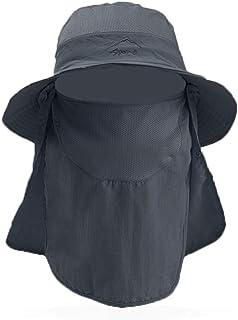 Sombrero de Sol de ala Ancha Unisex, BONKEEY Sombrero de Pesca, Quemaduras Solares y Protección UV – Gorra de Boonía Liger...
