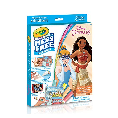 Crayola Color Wonder Glitter Paper, Disney Princess