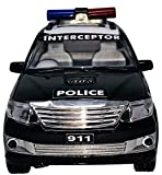 Fun Entertainment: This toy triggers imagination. Your child will use this Police Rescue Vehicle for endless hours of play catching imaginative criminals and keeping our city safe! [Push back] The car has pullback wheels, strong pull back, long forwa...