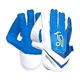 Kookaburra Unisex's SC 4.1 Wicket Keeping Gloves, White/Blue, Adult
