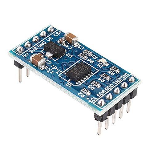 XUQIANG Lidinim 10pcs ADXL345 Módulo de acelerómetro de Sensor de ángulo Digital SPI: Productos Que Trabajan con tableros Oficiales Traje de módulo