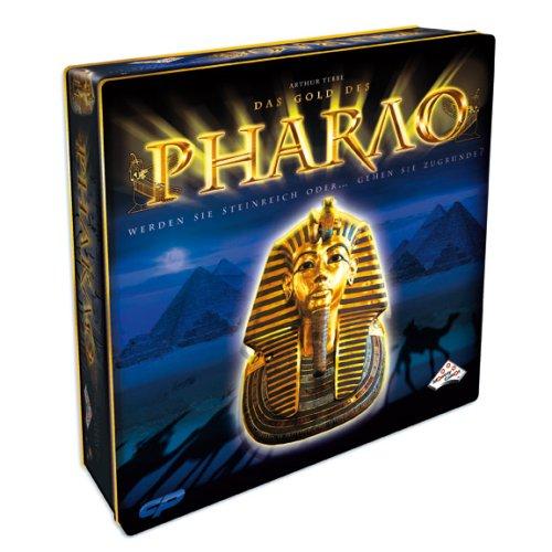 Californian Pro 02026 - Das Gold des Pharao, Strategiespiel in Metall Box