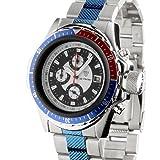 Detomaso Orologio da polso uomo titanio Blue Cronografo 35005a di G blu