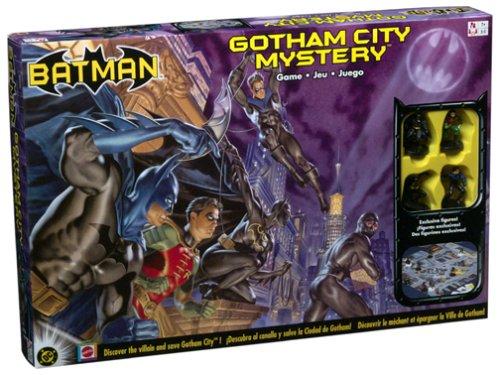 BATMAN GOTHAM CITY MYSTERY Spiel