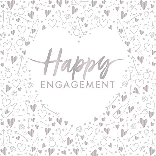 Creative Party Happy Engagement tovaglioli