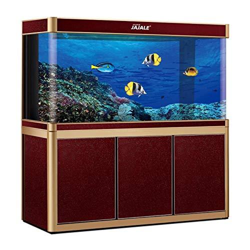 JAJALE 200 Gallon Aquarium Fish Tank LED Light Pump Freshwater...