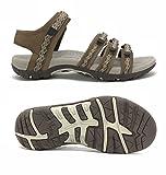 Viakix Sandales de randonnée pour Femmes, Confortables, Style athlétique, pour randonnée, Plein air, Marche, Plage, Eau, Sports