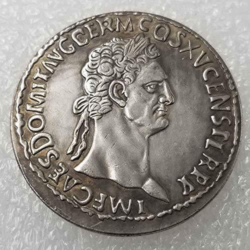 DDTing Alte römische Münze Römisches Imperium Münzen - antike, römische Münze Glücksmünze - tolles Lehrwerkzeug für Kinder - Handarbeit