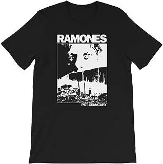 Ramones Rock Band Pet Sematary 80's Horror Vintage Gift Men's Women's Girls Unisex T-Shirt Sweatshirt