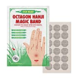 Itch Relief Octagon Traditional Korean Paper HANJI Patch After Bite Insect