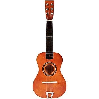 Foxom Guitarra Niños 23 Pulgada 6 Cuerdas Madera Guitarra Juguetes ...