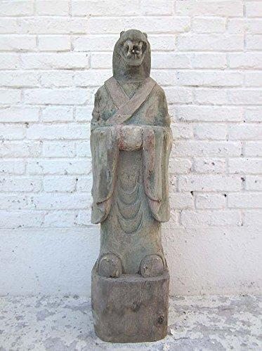 De la escultura de la serpiente China Astro lógica de diseño de budista pintado de madera de álamo 100 años de edad de Luxury Park