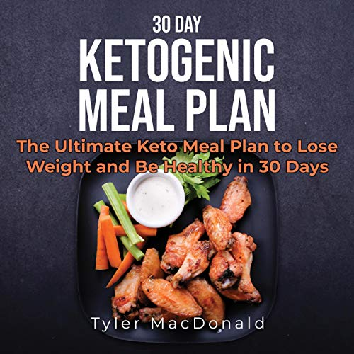 30 Day Ketogenic Meal Plan audiobook cover art