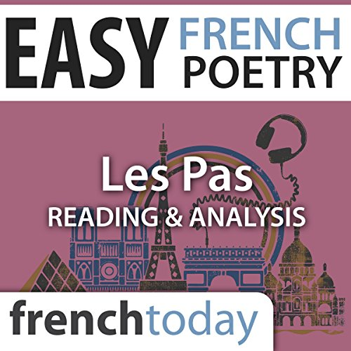Les Pas audiobook cover art
