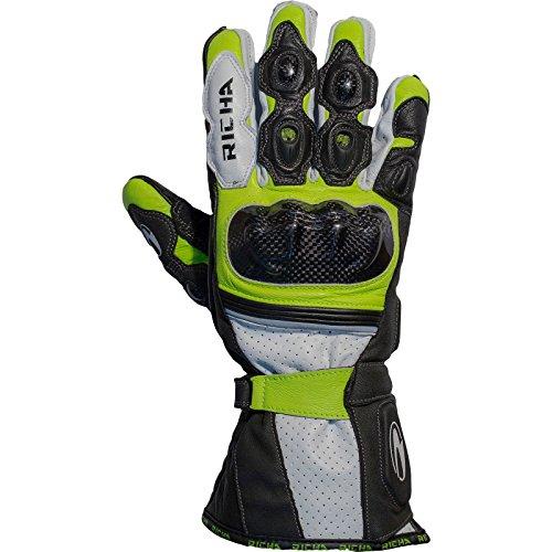 Richa Ravine - Motorrad-Handschuhe - belüftet - Sommer - Leder