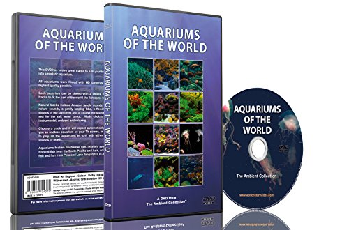 Aquarium DVD - Aquarien aus der ganzen Welt mit 12 Aquarien in HD