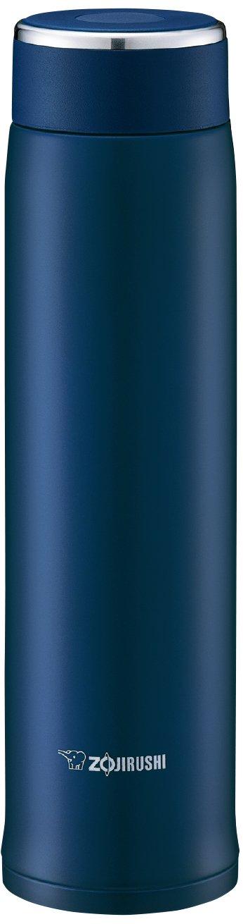 象印 軽量&コンパクトで使いやすいステンレスマグ0.6L(ネイビー) ネイビー SM-LA60-AD