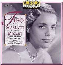 Maria Tipo Plays Scarlatti 12 Sonatas Mozart Piano Concerti Nos. 21 & 25