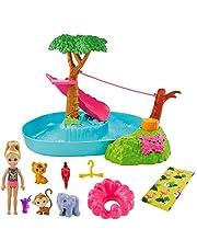 Barbie GTM85 – Barbie och Chelsea poolparty lekset