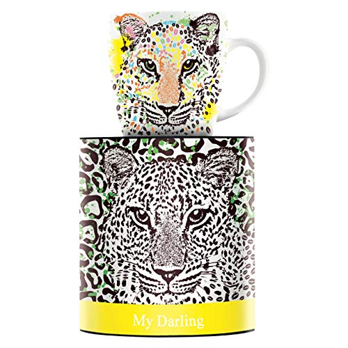 RITZENHOFF My Darling Kaffeebecher von Petra Mohr, aus Porzellan, 300 ml, mit trendigen Motiven