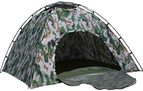 Barir Outdoor Tent, Spacious,Camouflage Tent, Four Seasons Digital Camouflage Tent Thick Cotton Camouflage Outdoor Camping Tent