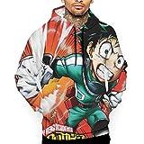 1Zlr2a0IG 2019 Well Design Boy Custom Sweatshirt,My Hero Academia 3D Digital Printed Hoodie