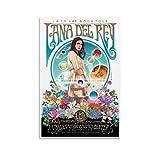XYDD Sänger-Poster Lana Del Rey Art La to the Moon Tour
