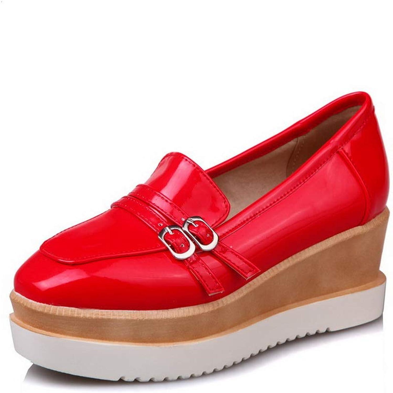 BalaMasa Womens Mule Casual Platform Urethane Pumps shoes APL10784