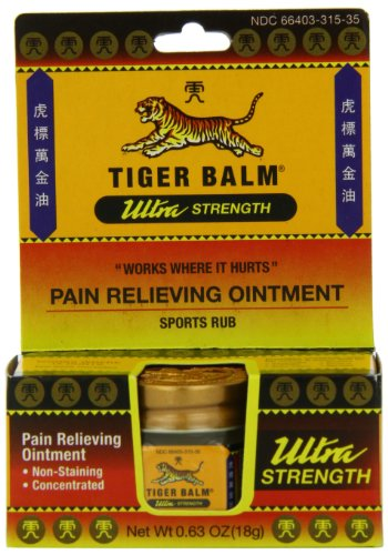 Tiger Balm Pain Relieving Ointment,...