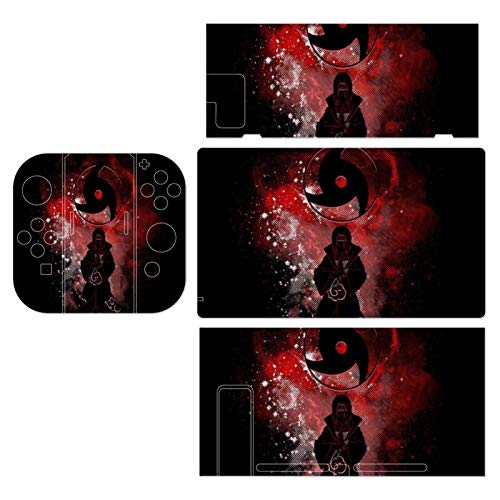 Naruto Itachi Uchiha Outline Theme Switch exclusive skin, Nintendo Switch sticker protective film, Switch full device exclusive skin sticker protective film
