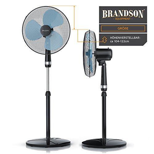 Brandson – Standventilator höhenverstellbar Bild 4*