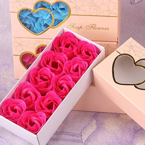 ELECTRI 10 Pcs Bain Rose Corps Fleur De Fleur...