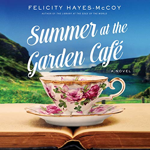 Summer at the Garden Cafe audiobook cover art