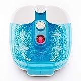 Masajeador para pies Promed FB-100, baño de pies con masaje de Burbujas y por...