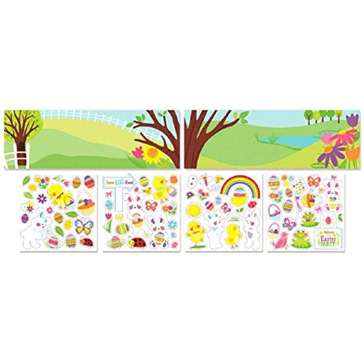 Amscan 150066 Sticker, One size, Multicolor ulwjpuj723