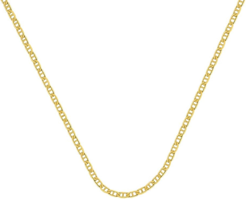 14ct Gelb Gold Mariner Kabel 3mm Karabiner Verschluss–Lnge Optionen  4651566176