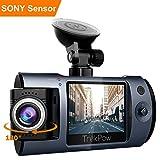 TrekPow T1 Dash Cam, Mini Versteckt HD 1080P, mit 2' LCD, 170 ° Wide Len, Nachtsicht,...
