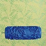 5 Pulgadas De Goma En Relieve Patrón De Flores Rodillo De Pintura Nuevo Rodillo De Pintura Decorativa Cepillo Herramientas De Bricolaje Azul - 6