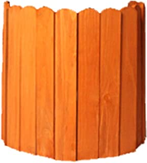 LPYMX picket fence Picket fence dome wooden planks wooden border, flowerbed, edge lawn edge or fence picket fencing (Color...