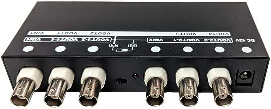 CCTV Camera Pros AHD-VD104 HD CCTV Video Splitter Amplifier, AHD, CVI, TVI, 1x4 BNC Video in/Out