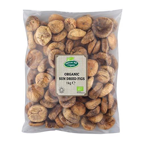 Figues Sèches Bio 1kg par Hatton Hill Organic - Certifiées biologiques