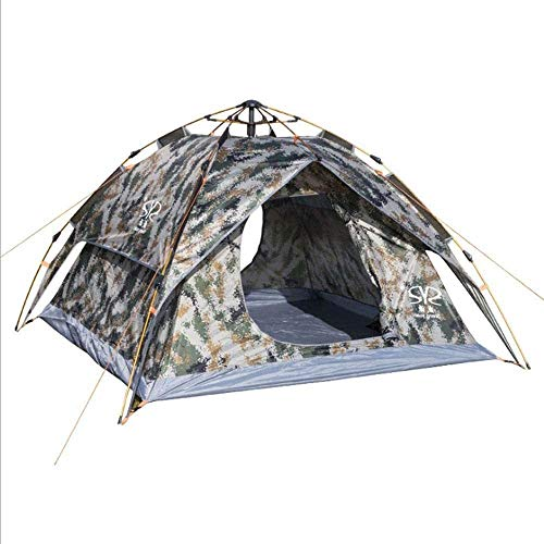 DS YQDSY Tent Camping Tent Ultra Légère Hiking Tent Beach Camping Tent for Outdoor Changing Dressing Fishing for 3-4 People Waterproof Tent/As Shown / 200 * 230 * 140cm